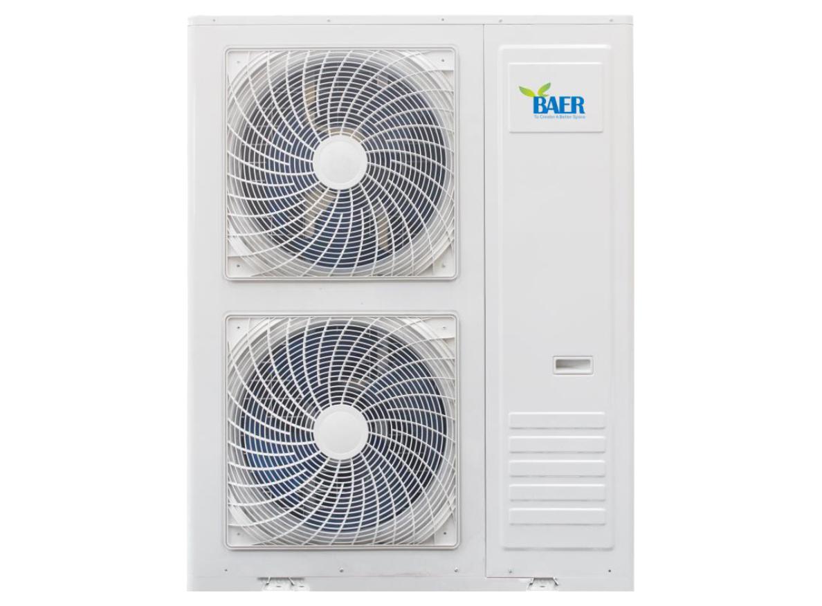壓縮蒸汽地暖/暖氣片采暖空氣源熱泵機組