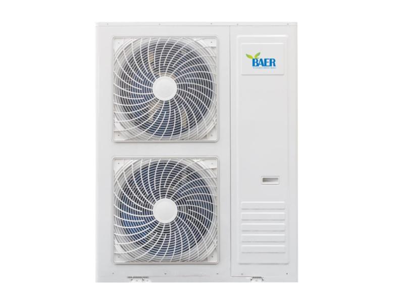 压缩蒸汽暖气片采暖空气源热泵机组