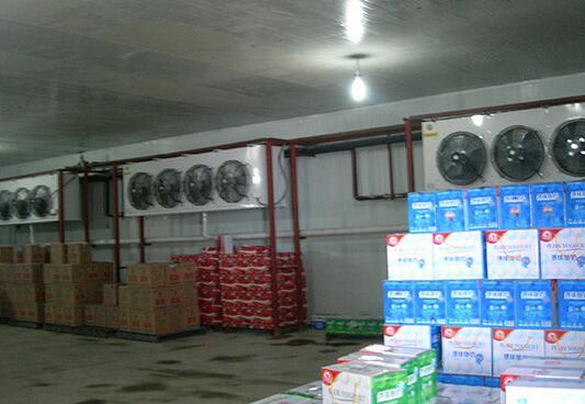蘭州莊園乳業有限責任公司的保鮮冷凍工程