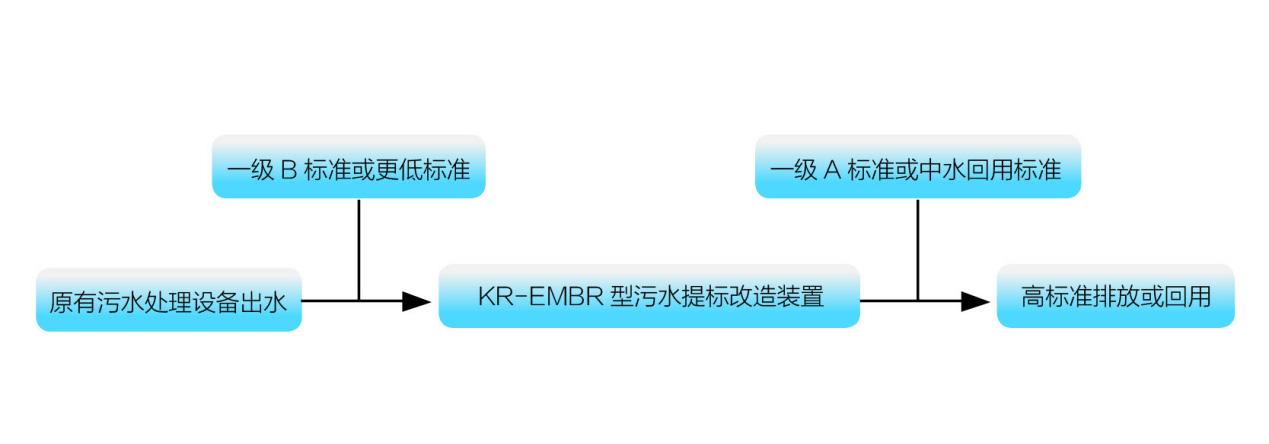 KR-EMBR型提标改造工艺