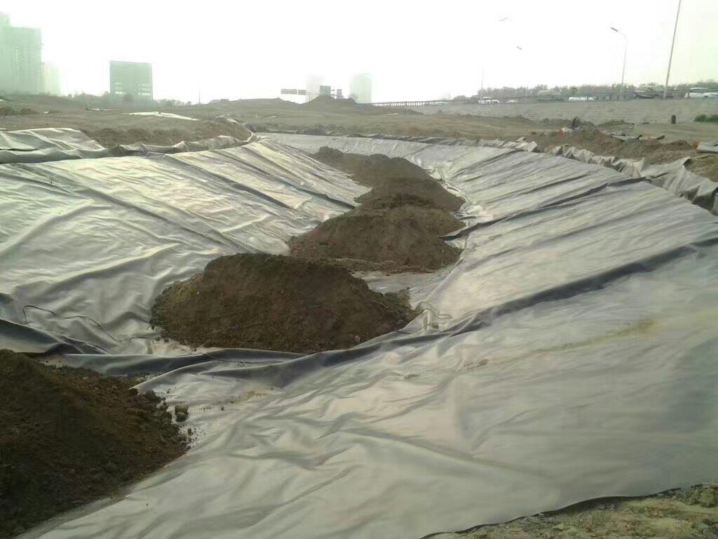 水利枢纽兰州复合土工膜防水层体是由哪多层构成的