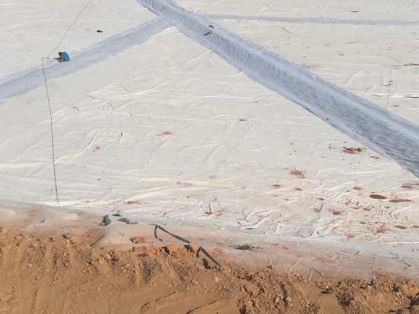 为兰州新区职教园提供土工布项目工程