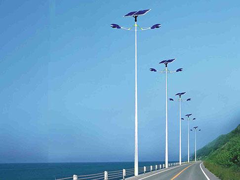 双头太阳能路灯LC-001