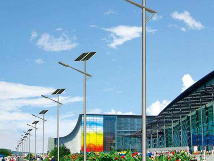 工地太阳能路灯