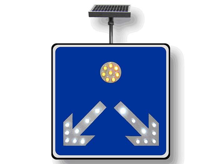 厂区交通指示牌