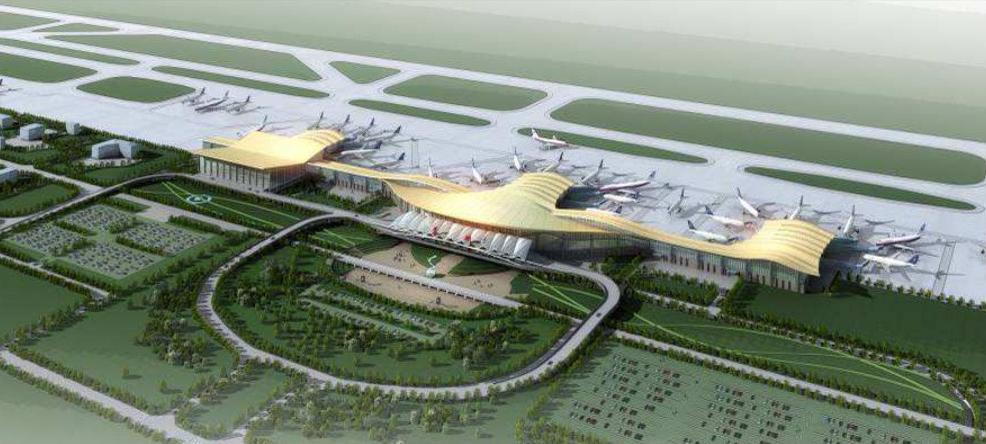 现场解说兰州中川机场施工中防水材料和防水涂料性能