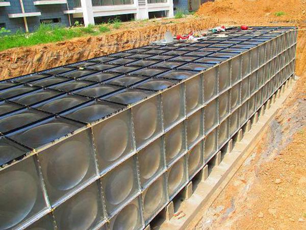 地埋式bdf装配式水箱安装