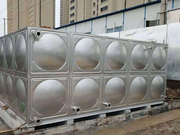 保温不锈钢生活水箱定制