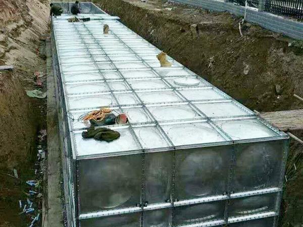 不锈钢消防水箱地埋式