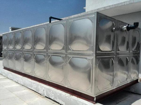 兰州重离子医院不锈钢水箱安装
