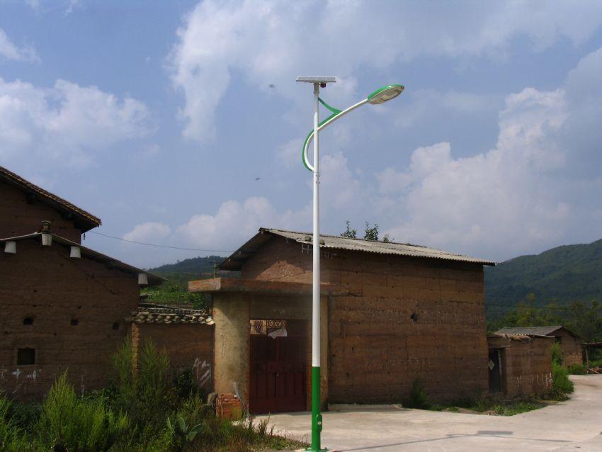定西新农村太阳能路灯安装