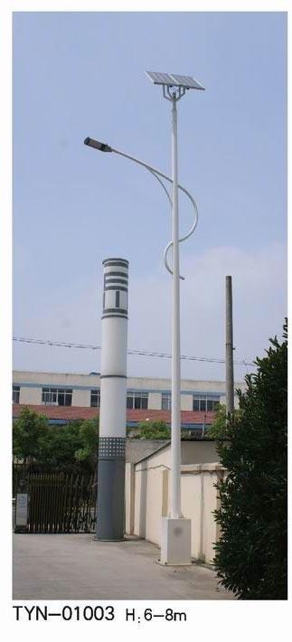 工厂太阳能路灯