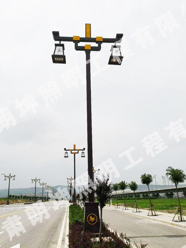 """蘭州市榆中縣定遠鎮""""庭院燈""""安裝工程"""
