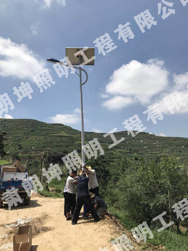 临夏太阳能路灯-临夏农村太阳能路灯-临夏路灯安装工程