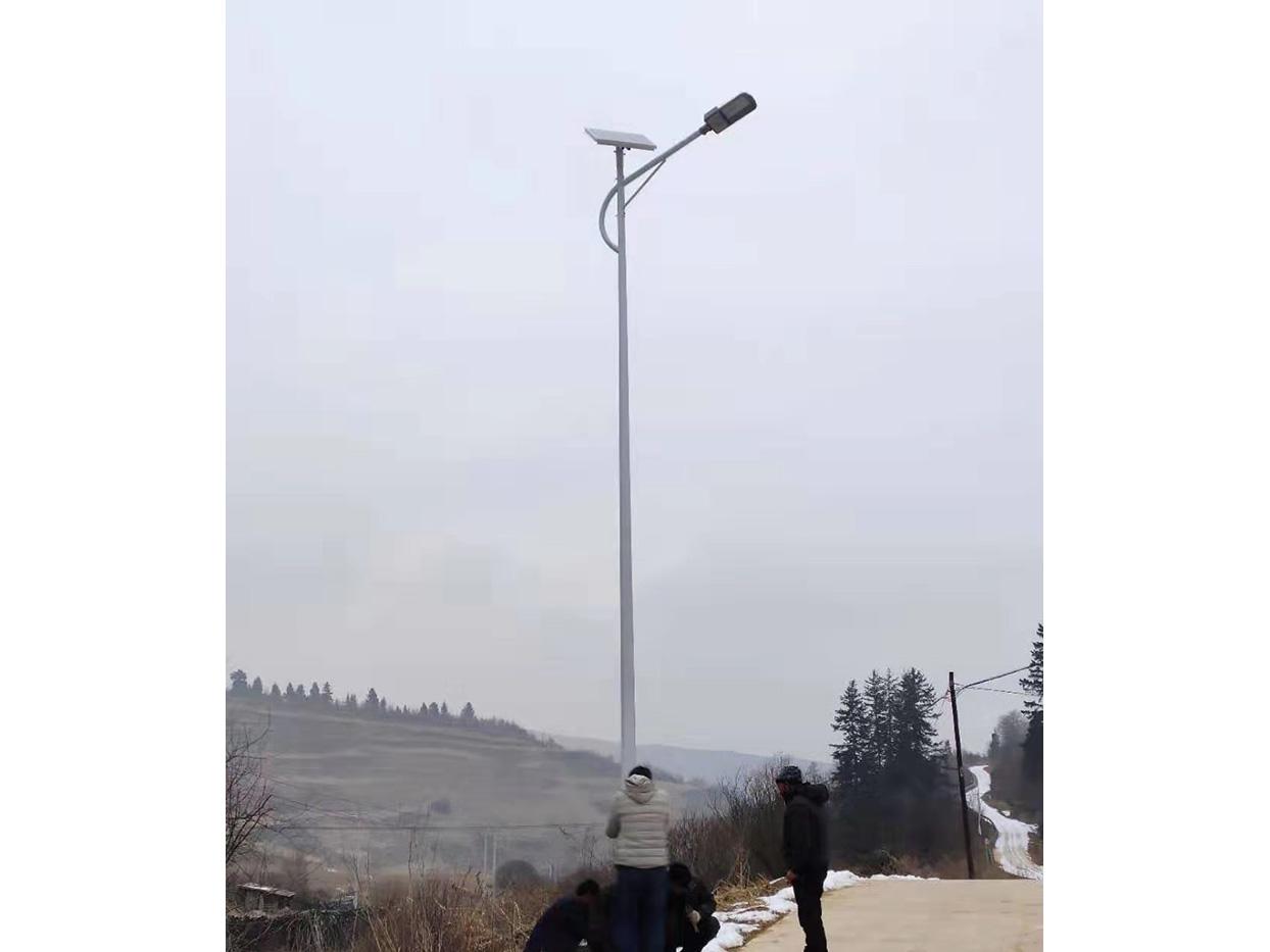 甘南led太阳能路灯安装工程