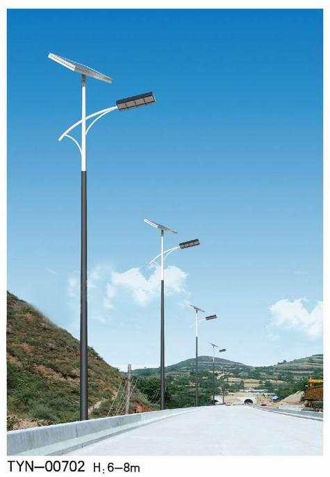 甘肃6米农村太阳能路灯厂家-农村太阳能路灯价格