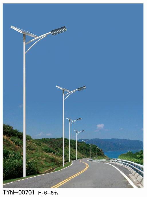 小型农村太阳能路灯