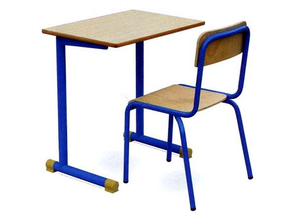 学生单人课桌椅