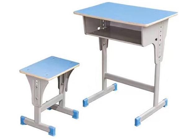 可升降学生课桌椅