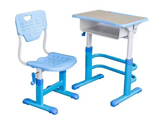 手摇升降课桌椅生产厂家,价格合理