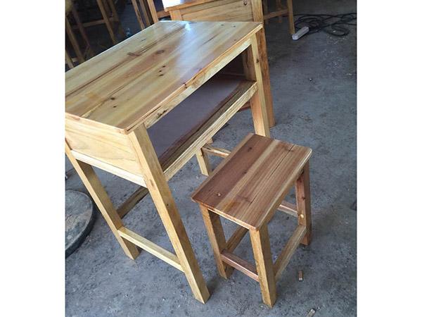 学生木课桌椅