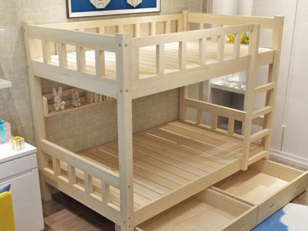 实木高低床如何设计
