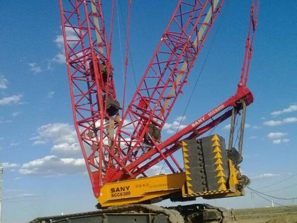 租赁500吨履带吊