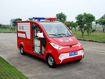 热烈祝贺绿通电动消防车精彩上市