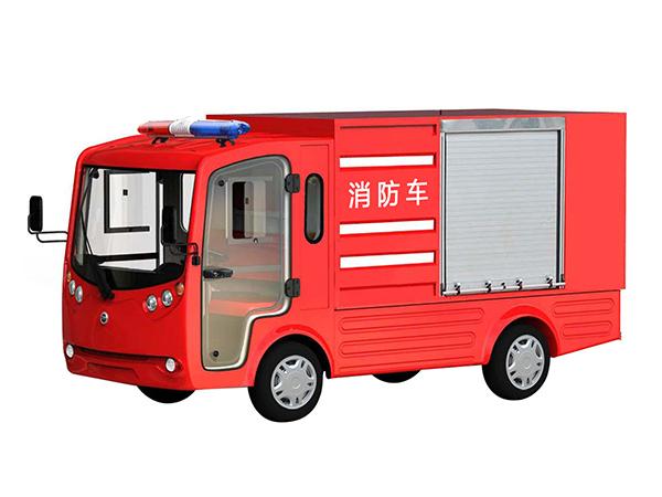电动巡逻车厂分享常见的几种电动消防车