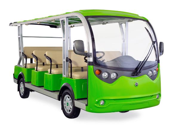 绿通电动旅游观光车可以带动景区的经济发展
