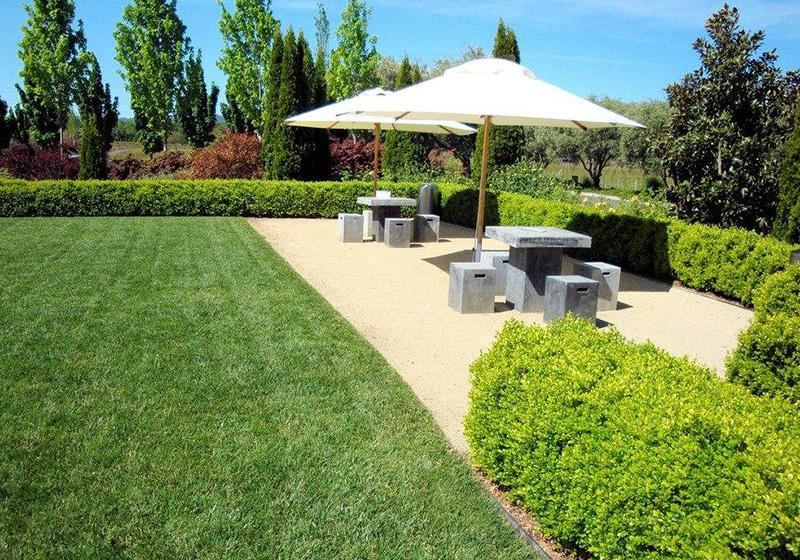 小区现代花园