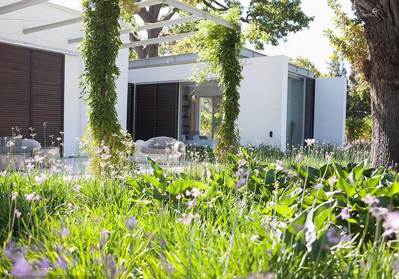 别墅现代花园