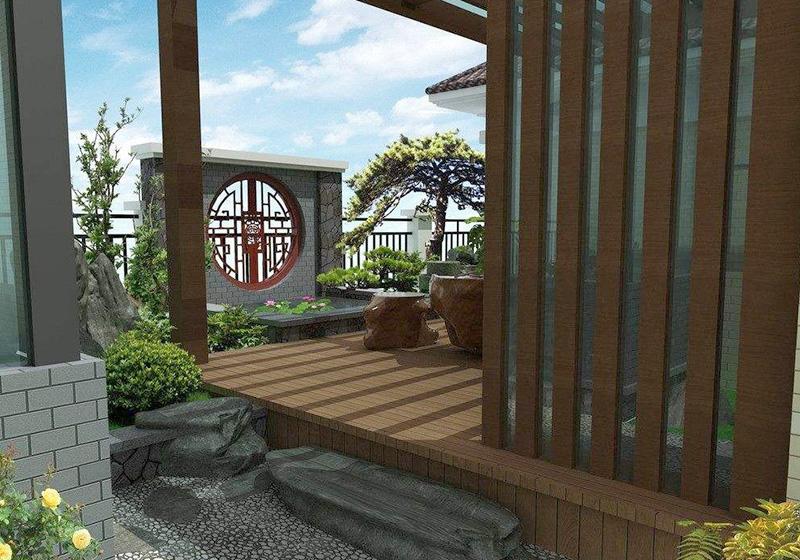 日式小型花园