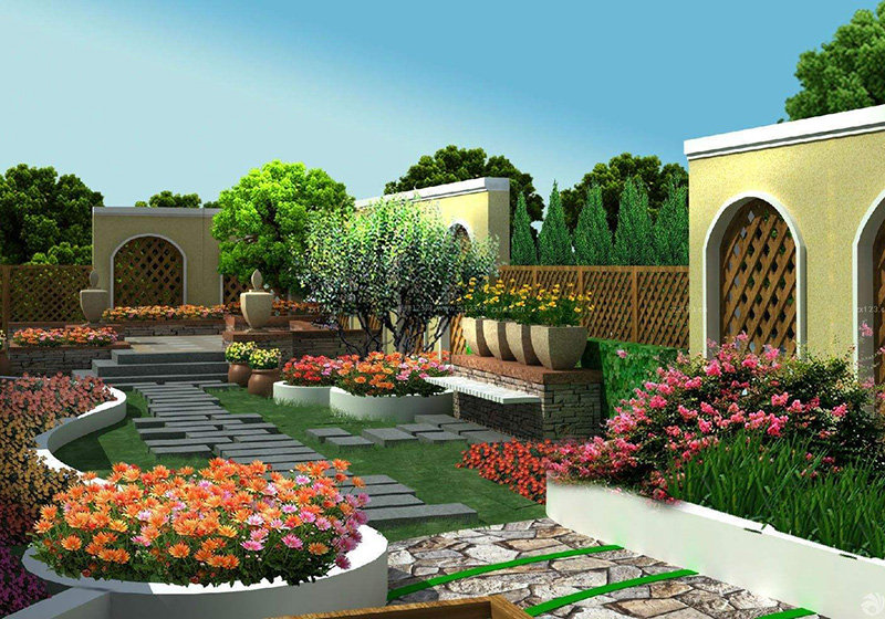 住宅屋頂花園