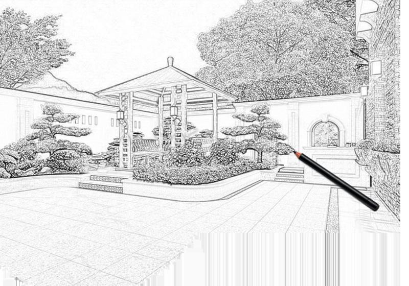 庭院花園和屋頂花園設計