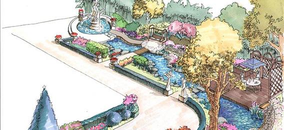 先進的花園設計理念