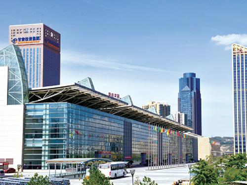 甘肃省会展中心使用外墙保温一体板