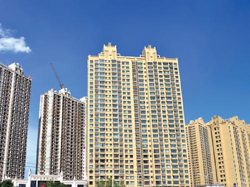 中广宜景湾采用绿舟节能建材生产的外墙保温装饰一体板