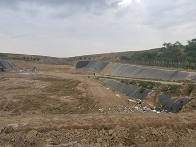 甘肃省陇西市生活垃圾填埋场防渗土工膜工程