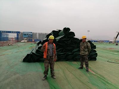 西部金属防排水板施工