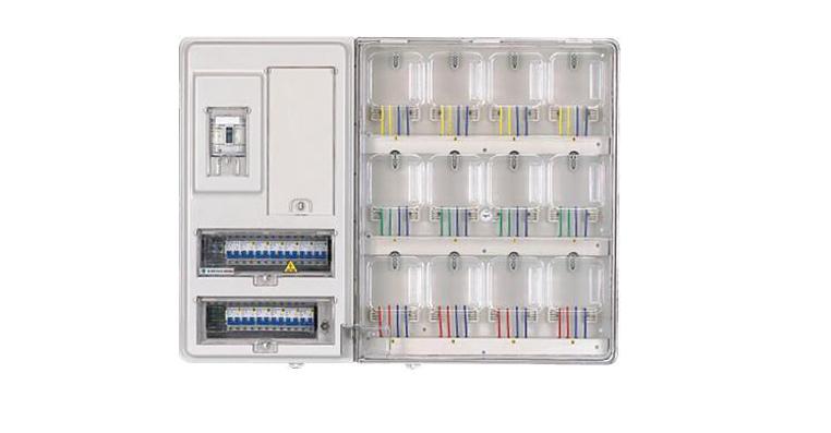 透明電表箱