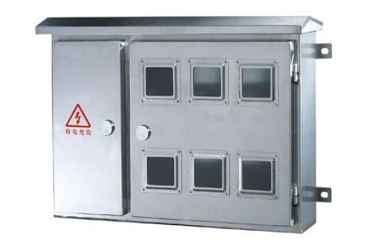 白銀防水電表箱