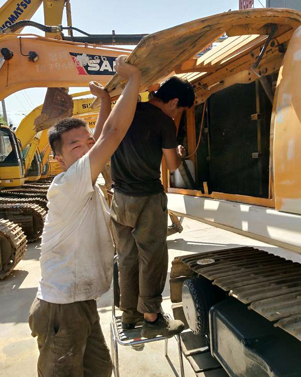 蘭州卡特挖掘機液壓泵故障維修