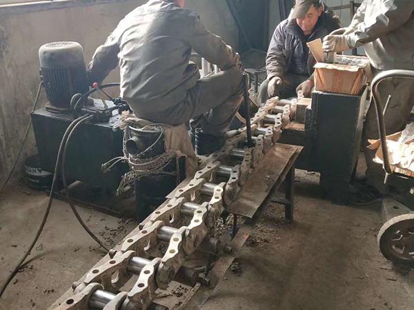 挖掘機翻新鏈條