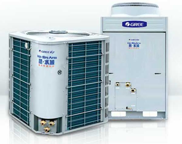 """""""热·水域""""直热循环型商用空气能热水机组"""