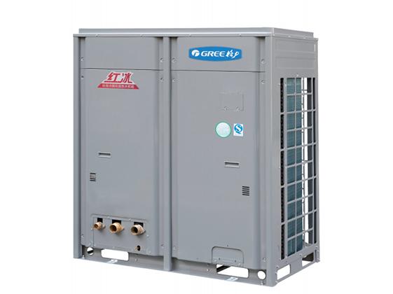 """兰州""""红冰""""直热循环型商用空气能热水机组"""