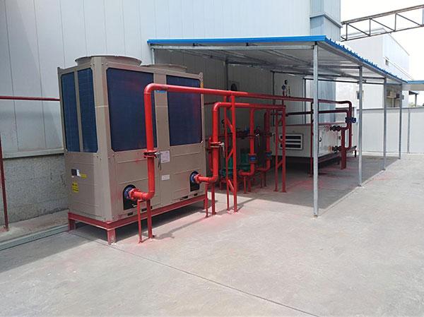 甘肃鹏程空调为和平金川科技园安装了组合式空调机组和超低温风冷模块机组