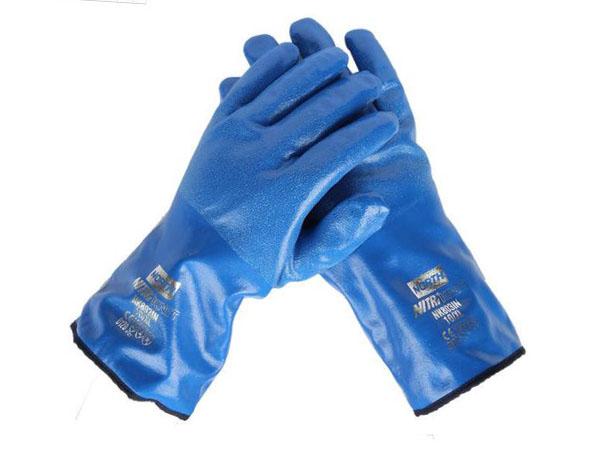 丁腈防化手套NK803IN