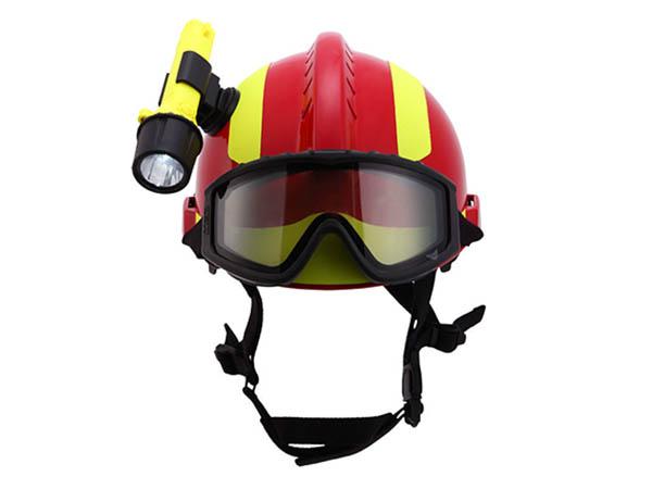 MSA消防头盔