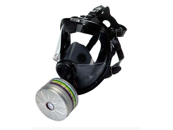 单罐全面罩呼吸器